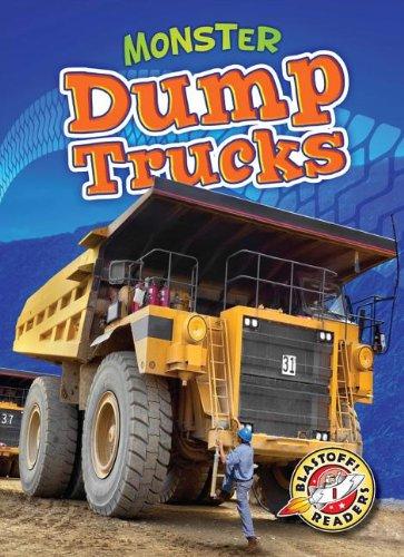 Monster Dump Trucks (Library Binding): Nick Gordon