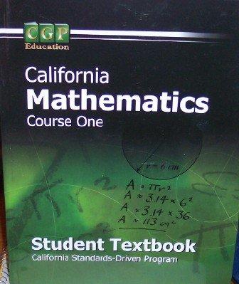 California Mathematics Course 1 Student Textbook: Andy Park