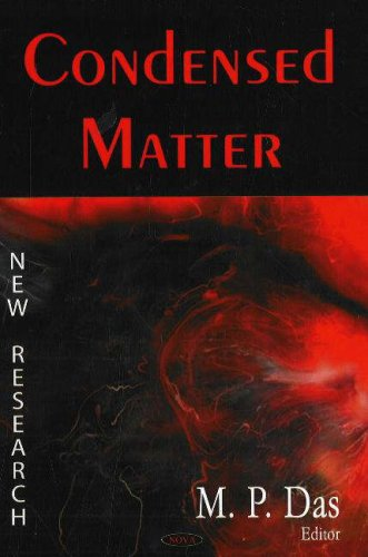9781600210228: Condensed Matter: New Research