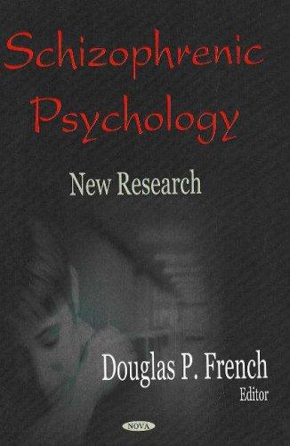 9781600210358: Schizophrenic Psychology: New Research