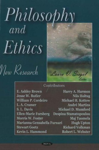 Philosophy And Ethics: New Research: Laura V. Siegal