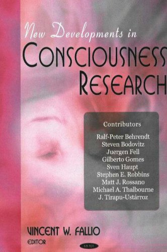 9781600212475: New Developments in Consciousness Research