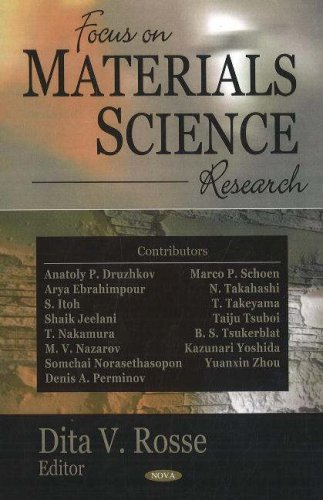 Focus on Materials Science Research (Hardback)