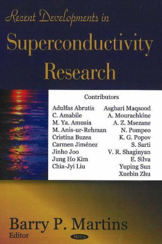 9781600214622: Recent Developments in Superconductivity Research