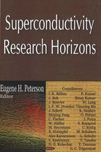 9781600215100: Superconductivity Research Horizons