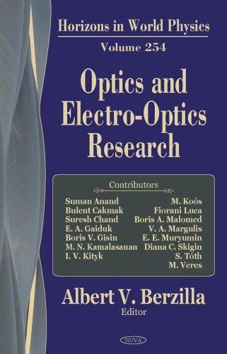 Optics and Electro-Optics Research (Horizons in World Physics)