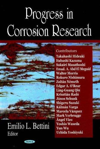 Progress in Corrosion Research: Krisztian Rado, Edgar A. ORear, Angel Vico, Sakairi Masathoshi, ...