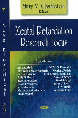 Mental Retardation Research Focus: Mary V. Charleton