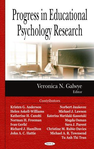 Progress in Educational Psychology Research: Veronica N. Galwye