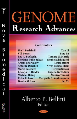 Genome Research Advances: Editor-Alberto P. Bellini