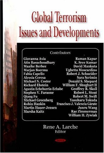 9781600219306: Global Terrorism Issues and Developments