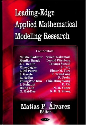9781600219771: Leading-Edge Applied Mathematical Modeling Research