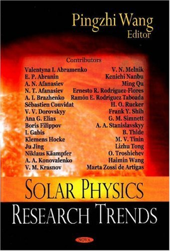 9781600219870: Solar Physics Research Trends