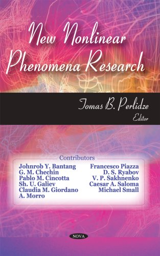 New Nonlinear Phenomena Research, by Perlidze: Tomas B. Perlidze