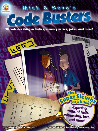9781600220593: Mick and Nova's Code Busters, Ages 8 - 12: 30 code-breaking activities, memory verses, jokes, and more!
