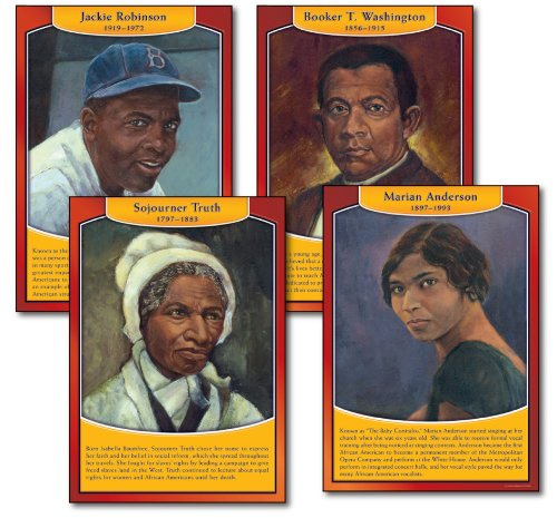 9781600220739: Famous African Americans Bulletin Board Set