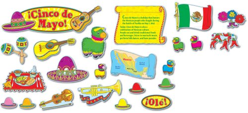 9781600221057: Cinco de Mayo, Mini Bulletin Board Set and More
