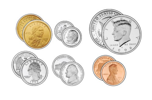 9781600221125: U.S. Coins Cut-Outs