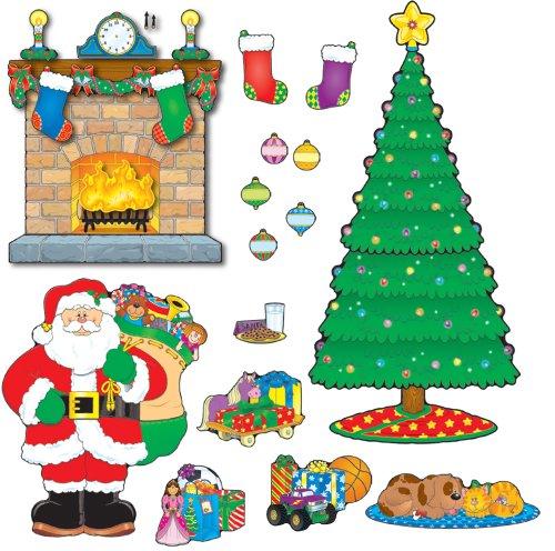 9781600221149: Christmas Scene Bulletin Board Set