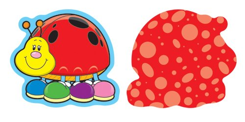 9781600221194: Ladybugs Mini Cut-Outs