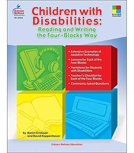 9781600221255: Children with Disabilities: Reading and Writing the Four-Blocks Way (Four-Blocks Literacy Model)