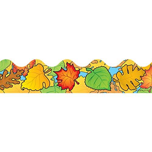 9781600221378: Carson Dellosa Colored Leaves Borders (1227)