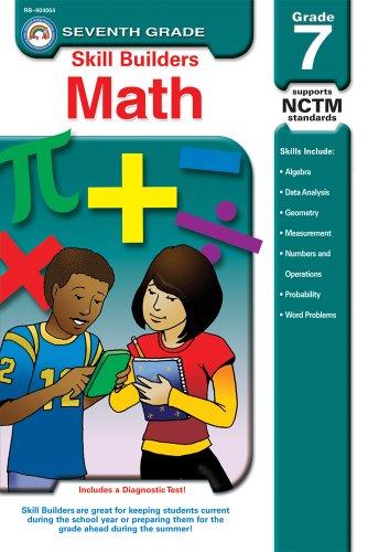 9781600221521: Math, Grade 7 (Skill Builders™)