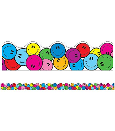 9781600221552: Smiley Faces Scalloped Borders