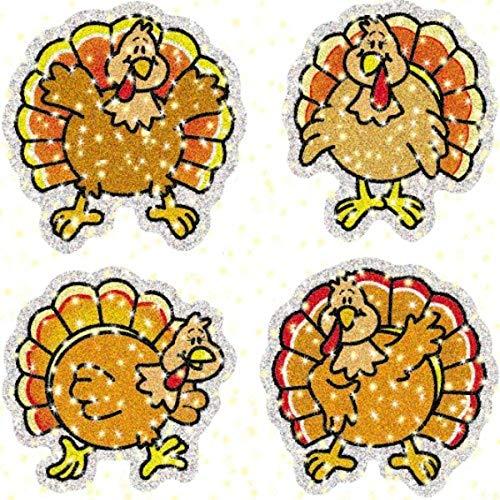 9781600222825: Turkeys Dazzle(tm) Stickers
