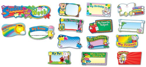 9781600224188: Student of the Week Bulletin Board Set