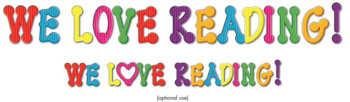 9781600224379: We Love Reading! Bulletin Board Set