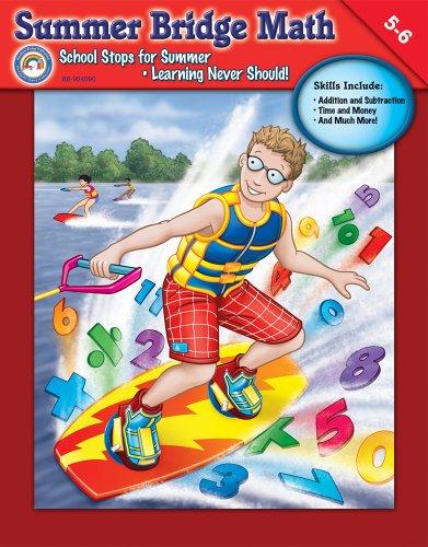 9781600224546: Summer Bridge Math, Grades 5 - 6