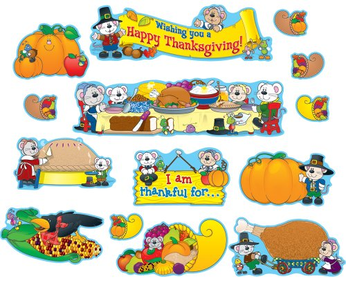 9781600224591: Thanksgiving Bulletin Board Set