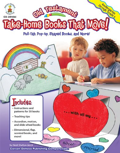 9781600225154: Old Testament Take-Home Books That Move!, Grades K - 2: Pull-Tab, Pop-Up, Shaped Books, and More!