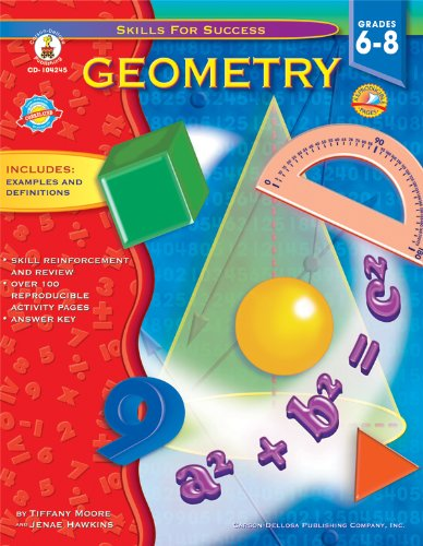 9781600225307: Geometry, Grades 6 - 8 (Skills for Success)