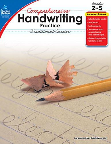 Comprehensive Handwriting Practice: Traditional Cursive, Grades 2 - 5: Pyne, Lynette