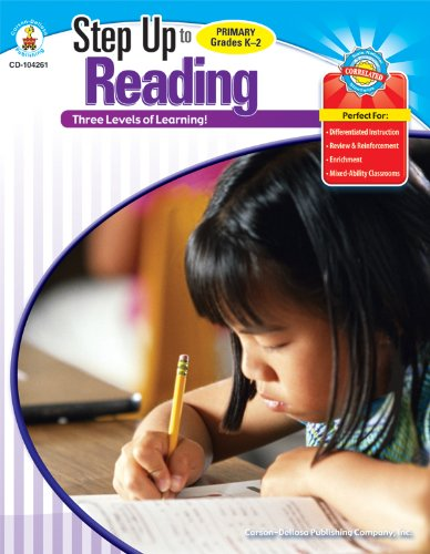 9781600229701: Step Up to Reading, Grades K - 2: 3 Levels of Learning! (Step Up Series)