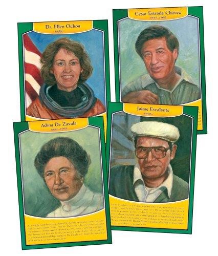 9781600229787: Famous Hispanic Americans Bulletin Board Set
