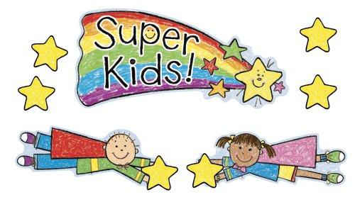 9781600229817: Super Kids Job Assignment Bulletin Board Set: Kid-Drawn