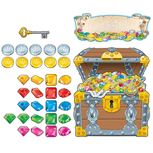 9781600229855: Big Treasure Chest Bulletin Board Set