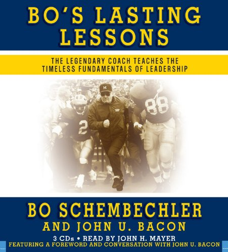 9781600240218: Bo's Lasting Lessons: The Legendary Coach Teaches the Timeless Fundamentals of Leadership