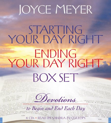9781600240959: Starting Your Day Right/Ending Your Day Right Box Set: Devotions to Begin and End Each Day