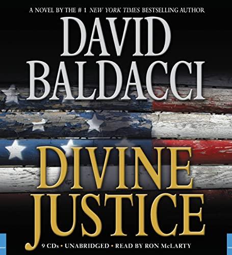Divine Justice: Library Edition: David Baldacci