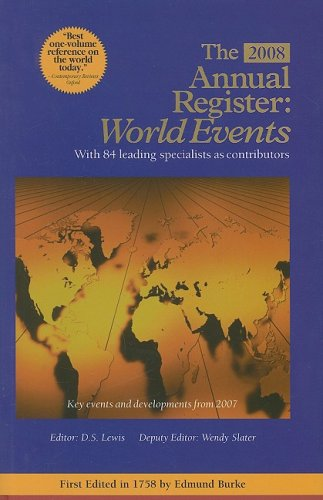 The Annual Register: World Events 2007 (Hardback)