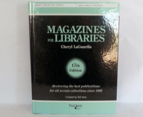Magazines for Libraries 2009: Katz, Bill