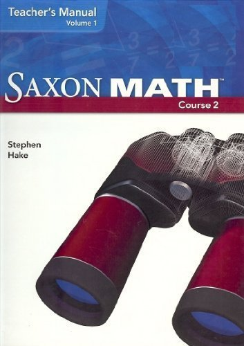 9781600320736: Saxon Math Course 2: Teacher Manual 2-Volume Set 2007