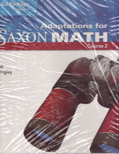 Adaptation for Saxon Math