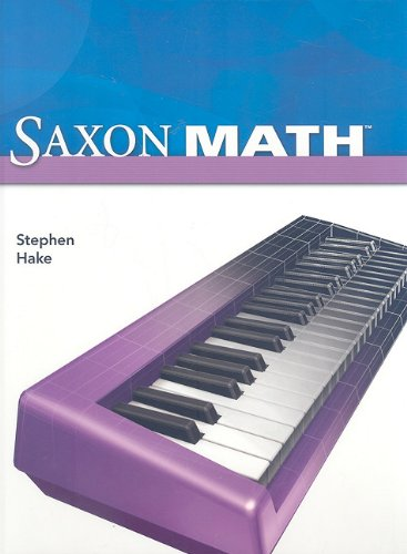 9781600325403: Saxon Math, Intermediate 4 (Student Edition)