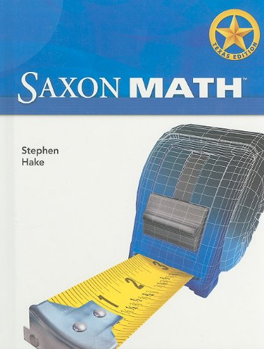 Saxon Math Intermediate 5 Texas: Student Edition: SAXON PUBLISHERS