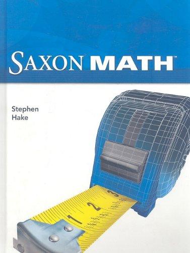 Saxon Math Intermediate 5: SAXON PUBLISHERS